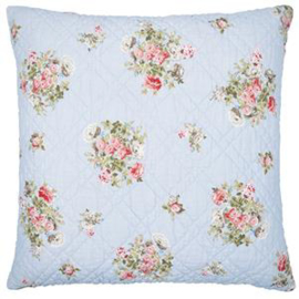 GreenGate Cushion Petricia Pale Blue 50 x 50 cm