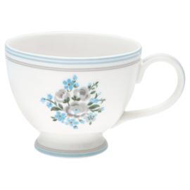 GreenGate Stoneware Teacup Nicoline Beige H 9 cm