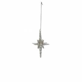 GreenGate Christmas Star Sparkling Small H 8,5 cm