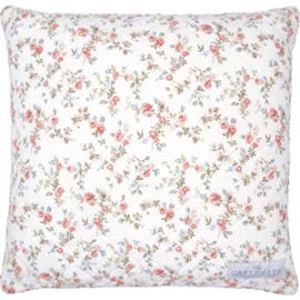 GreenGate Cushion Carly White 40 x 40 cm