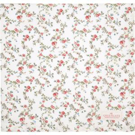 GreenGate Tablecloth Carly White 150 x 150 cm