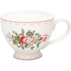 GreenGate Stoneware Teacup Petricia Pale Pink H 9 cm