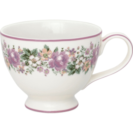GreenGate Stoneware Teacup Marie Dusty Rose H 9 cm
