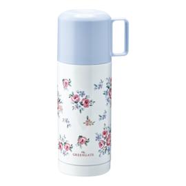 GreenGate Thermos Bottle Nicoline White 350 Ml