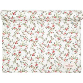 GreenGate Tablerunner Carly White 45 x 140 cm