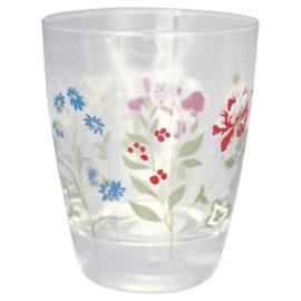 GreenGate Glass Water Thilde White