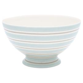 GreenGate Stoneware Soup Bowl Tova Pale Blue D 15 cm