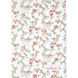 GreenGate Teatowel Carly White 50 x 70 cm