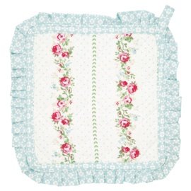 GreenGate Pot Holder Gabby White Set Of Two 20,5 x 20,5 cm