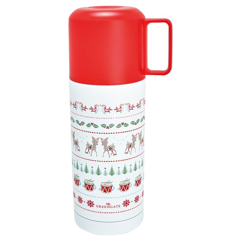 GreenGate Thermos Bottle Bambi White 350 Ml