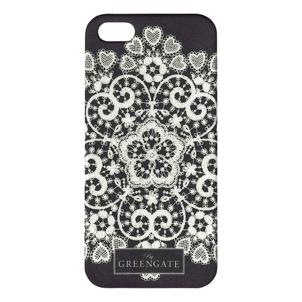 GreenGate Mobile Cover IPhone 5 Lace Silver