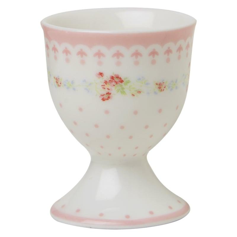 GreenGate Stoneware Egg Cup Sinja White H 6,5 cm