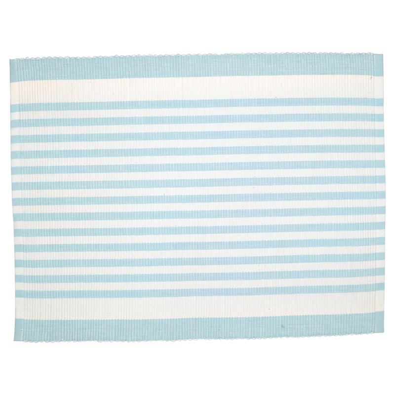 GreenGate Placemat Alice Stripe Pale Blue 35 x 45 cm