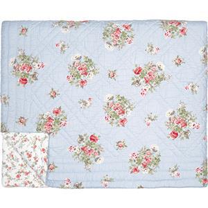 GreenGate Bed Cover Petricia Pale Blue 140 x 220  cm