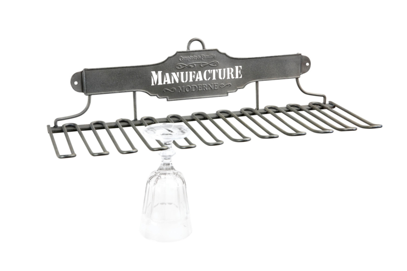 Comptoir de Famille Glass Rack Manufacture