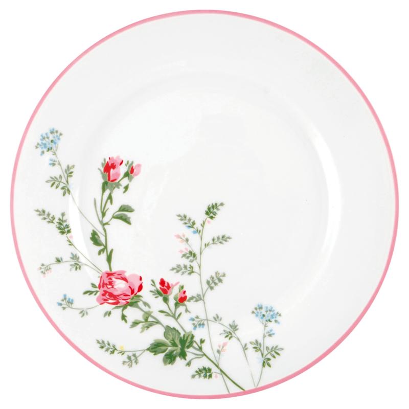 GreenGate Stoneware Dinnerplate Constance White D 25,3 cm