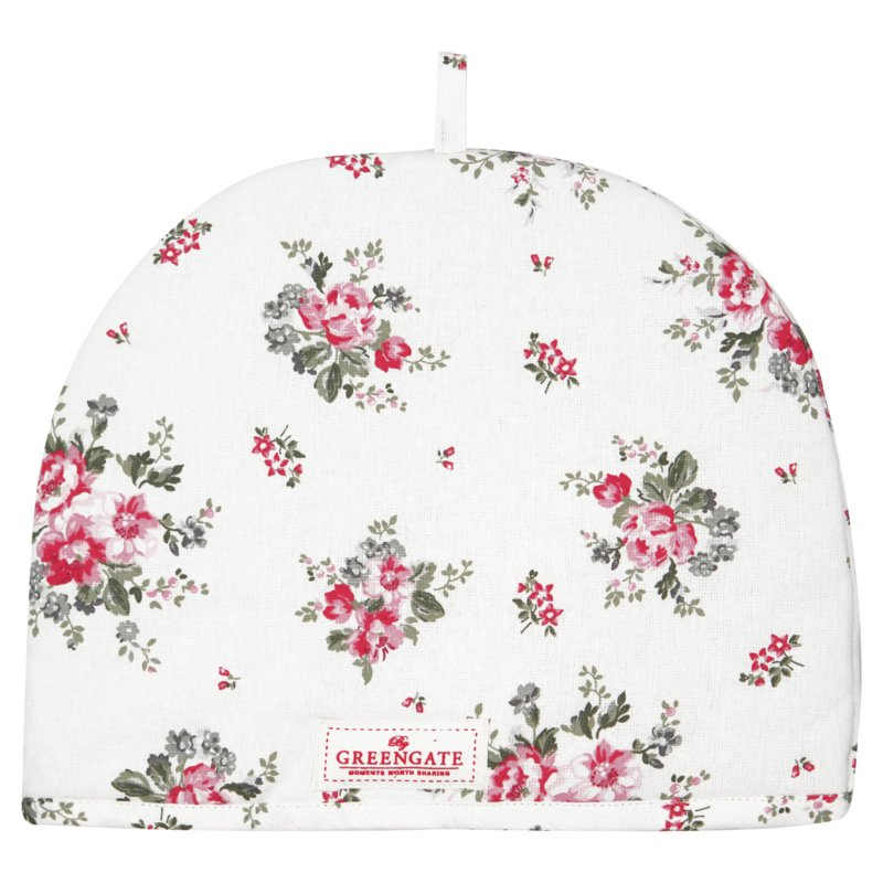 GreenGate Tea Cosy Elouise White