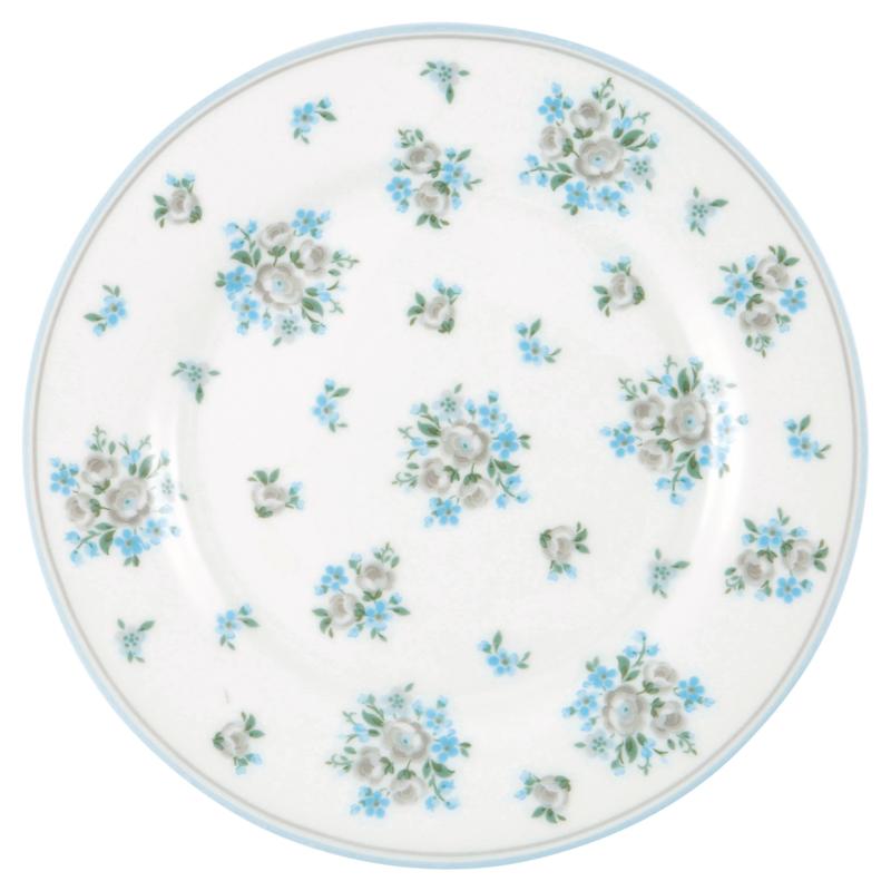 GreenGate Stoneware Plate Nicoline Beige D 20,5 cm