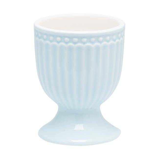 GreenGate Stoneware Egg Cup Alice Pale Blue H 6,5 cm