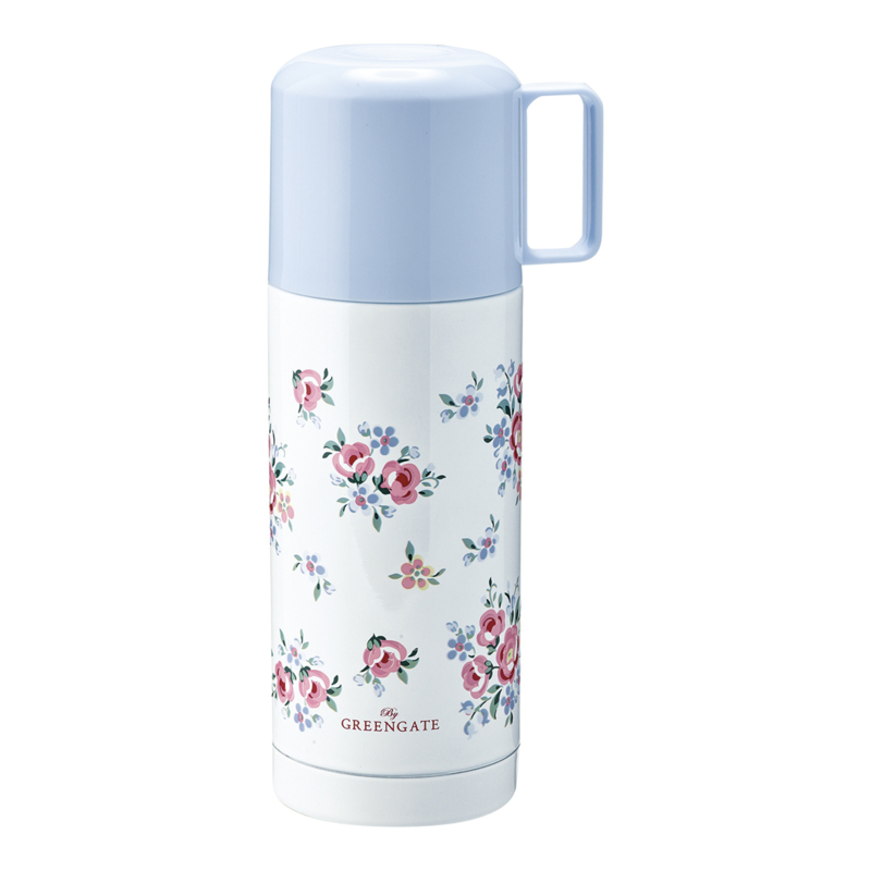 GreenGate Thermos Bottle Nicoline White 350 Ml