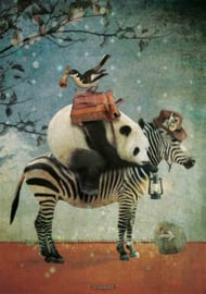 Poster Panda - 70x100 cm (135 gram, glanzend)