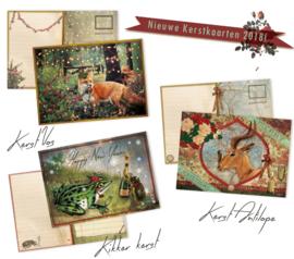 24 Kerstpostkaarten uitzoeken