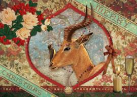 """Kerst Antilope""- 8 stuks"