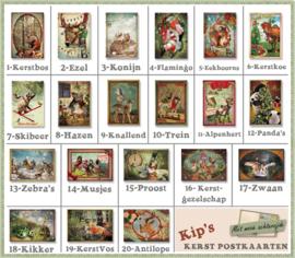 Mixset: 12 Postkaarten uitzoeken