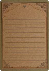 A5 Kraftkaart - Vossen Date