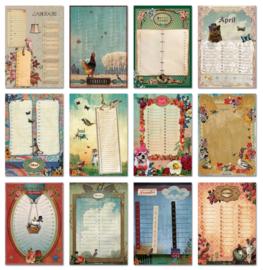 Kalender + A5-Blok + Uitnodigingen-set