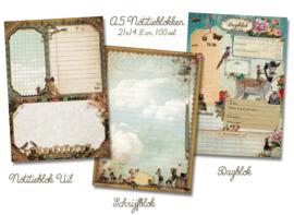 6 Ansichtkaarten + Kalender + A5-blok