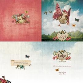 """Vleugel Gansje """"bloemen"""""""