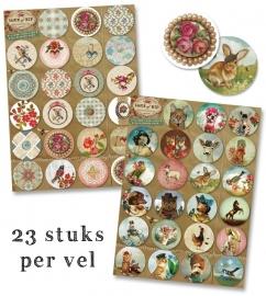 46 Sluitzegels + Dagblok