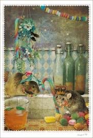 Prenten-set: Muizen