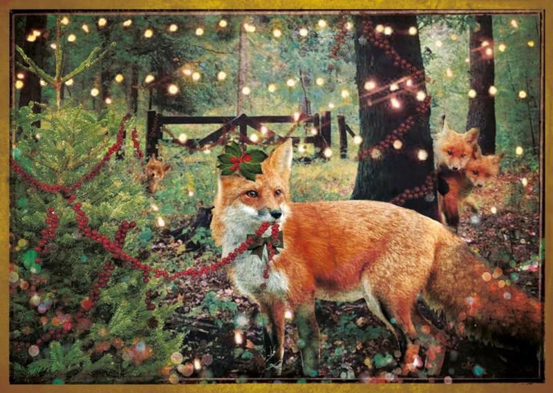 """""""Kerst Vos""""- 8 stuks"""