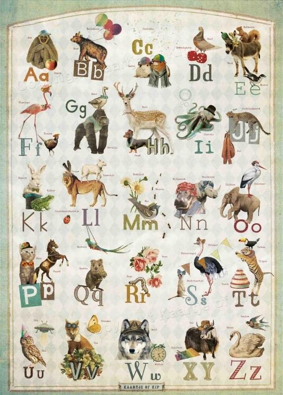 ABC poster 50x70 cm