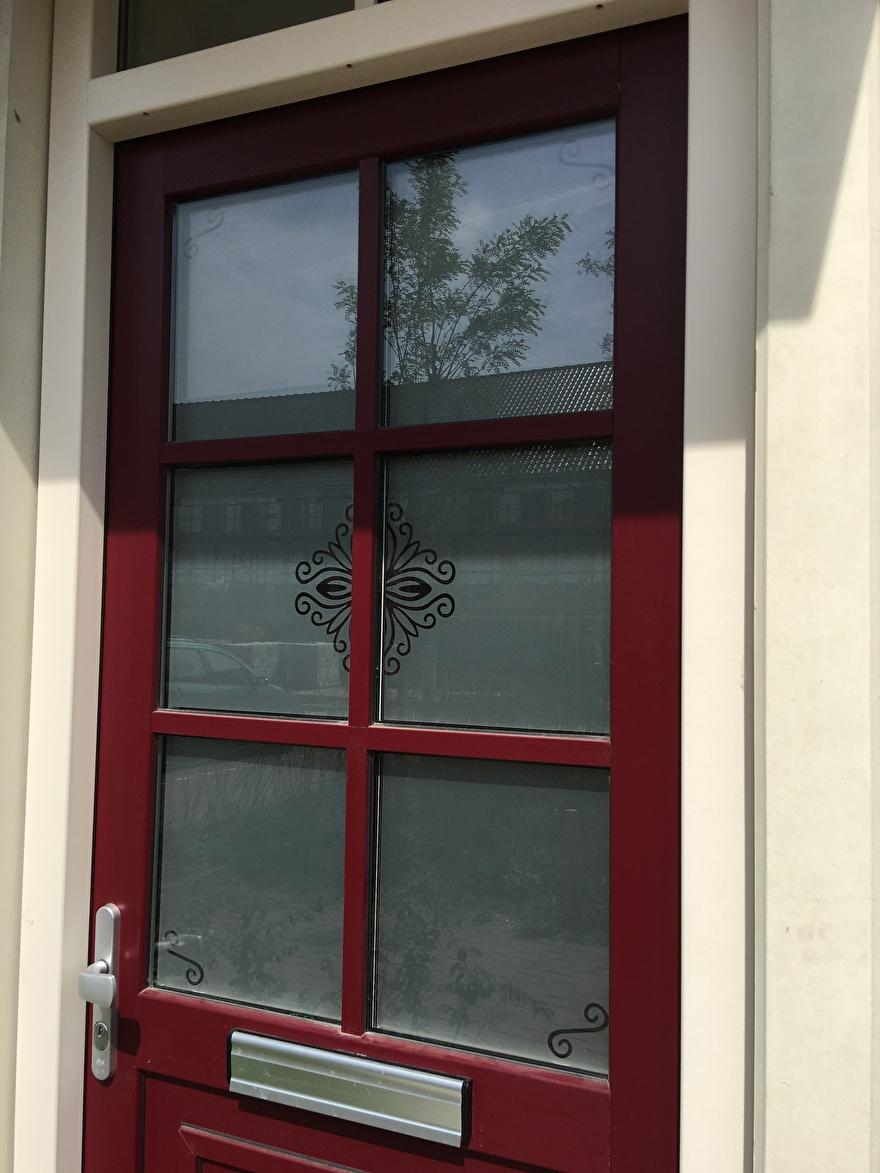 raamfolie voordeur