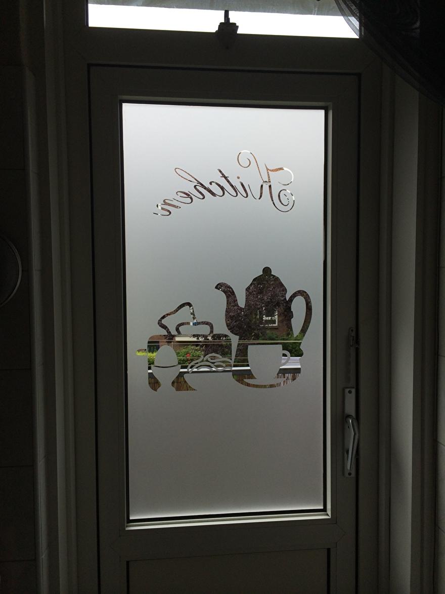 raamfolie op maat voor het keukenraam