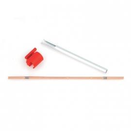 Schakelstift SRAM Spectro P5 met geleidebus rood