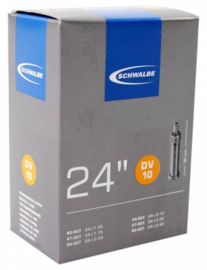 Binnenband Schwalbe DV10 24x1.50/2.50 40/62-507 Hollands ventiel