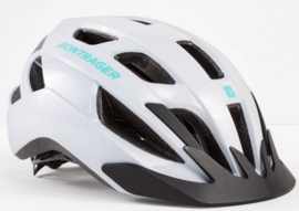 Helm Bontrager Solstice  White/Miami Green (S/M 51/58cm)