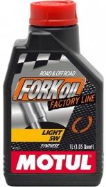 Vorkolie Motul Fork Oil Factory Line 5W Light 1 liter