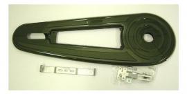 Kettingkast Hesling Classic groen metallic