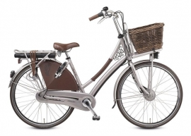 Jasbeschermers Sparta Country Tour Electric donkerbruin kunstleer model Mgrappa