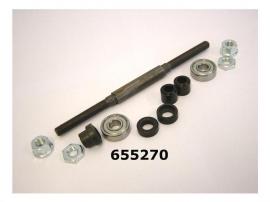 Achteras Sturmey Archer HSB433 ST compleet, na 01/93, L= 174 mm