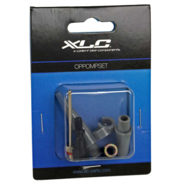 Oppompset assorti XLC luchtbed, bal, compressor etc
