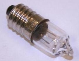 Lamp 6V 2,4W E10 halogeen met schroefdraad