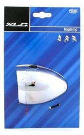 Koplamp XLC Hollands Classic chroom Aan / uit LED batterij