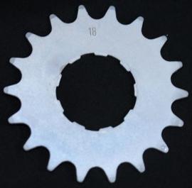 Tandwiel 18 tands 1/2 x 3/32 smal Enviolo / Nuvinci vlak 18T
