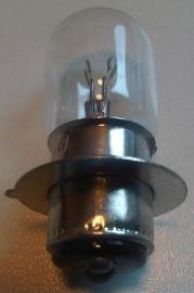 Lamp 6V 15/15W PX15D duplo met kraag en lip